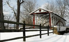 Dr. Knisely Covered Bridge ~ Bedford County, PA