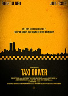 "Movie Poster - ""Taxi Driver"" by Hydrology, via Flickr"