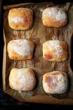 baked ciabatta
