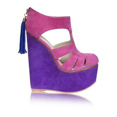 Purple Wedges Wedges Wedges