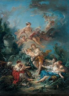 Mercury Confiding the Infant Bacchus to the Nymphs of Nysa | Kimbell Art Museum