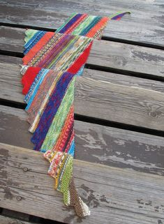 Hitchhiker Scarf/Shawl By Martina Behm - Purchased Knitted Pattern - (ravelry)