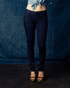 "Jesse Stretch - imogene + willie; quality, handmade denim for a gorgeous, ""green"" summer."