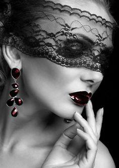 Beautiful Photography | Beautiful Lace Mask photography