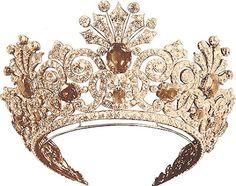 Jewel crown from the Romanov's! | jewelry - crowns / tiaras / jewels