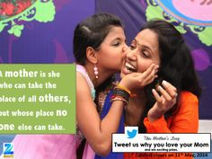 Mother can take the place of others. Love Mom, Mother Quotes, Day
