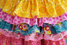 Free Little Girls Patterns | Just In! Nie Nie Skirt | The Pipers Girls