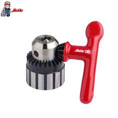JIEHE Drill Chuck 0.6-6mm B10 Collet Chuck Drill Holder Adjustable Electric Drill Bit Adapter Keyless Power Tools Accessories
