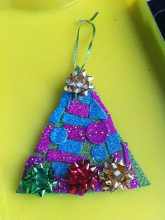 Rockabye Butterfly: Gingerbread Man and Sparkly Tree Christmas Crafts