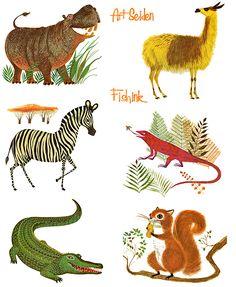 Art Seiden Mid century Illustrator of children's books  