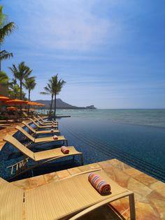 Sheraton Waikiki Pool Area...Hawaii...take me away.  ♥