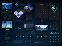 UI/UX Conceptual Works by Tintins | Abduzeedo Design Inspiration