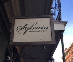 Sylvain Restaurant New Orleans---not to be missed. New favorite restaurant in New Orleans!!! Yummy drinks, amazing food, and sexy atmosphere.