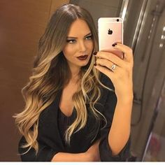 Extensions # Haarverlängerung # russische Tresse# Lange Haare # Balayage Hair# Balayage Tresse # ombre Hair # ombre brown to blonde # Victorias Secret hair # shopping # lange haare hair # Microrings in# Balayage C Ombre Hair, Balayage Hair, Brown Blonde Hair, Tape In Hair Extensions, Hair 2018, Grunge Hair, Hair Highlights, Gorgeous Hair, Hair Looks