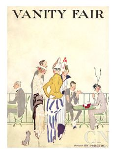 Vanity Fair Cover - August 1914 Poster Print by Ethel M. Plummer at the Condé Nast Collection