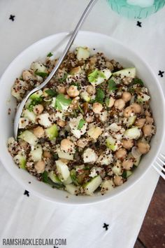Yes, quinoa is pretty delicious generally, but I was floored by how fully addictive this salad is. Crunchy, hearty, citrus-y, salty, sweet: all the good things.