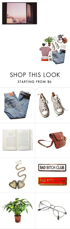 """""""don't try to fix what's not broken"""" by amoonshapedpool ❤ liked on Polyvore featuring Levi's, Converse and Cartier"""
