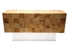Light Burl Check Sideboard for sale at Pamono Sideboards For Sale, Mid Century Sideboard, Sideboard Buffet, Mid Century Modern Furniture, Buffets, Timeless Design, Vintage Furniture, Mid-century Modern, Storage