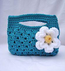 Crochet Granny Stripe Boutique Bag, http://crochetjewel.com/?p=5208