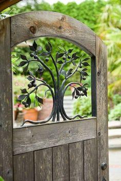 lovely door to the garden