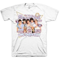 One Direction - One Direction Retro T-Shirt - Small
