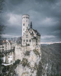 Castelo de Lichtenstein, em Lichtenstein=Coleção impressionante de fotos da Europa por Patrick Monatsberger