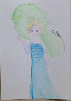 Norway as Snow queen Elsa  Let it troll!  ❄️Chibidora❄️