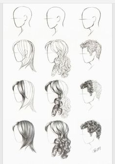 Cool drawing of hair