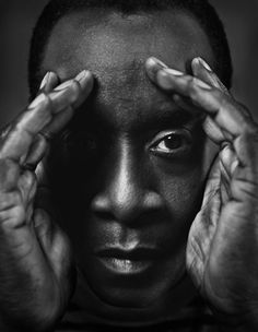 """cartermagazine: """"April 2015 Today We Honor Don Cheadle Don Cheadle, actor, film producer and philanthropist rose to prominence in the late and the early His lead role as a Rwandan. Celebrity Portraits, Celebrity Photos, Male Portraits, Creative Portraits, My Black Is Beautiful, Beautiful People, African American History, Best Actor, Famous Faces"""