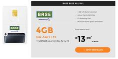 4GB LTE Allnet Flat mit EU-Roaming für 13,99€ http://www.simdealz.de/o2/base-all-in-l-aktion/