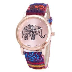 Bohemian girl party fashion elephant woman watch and other apparel, accessories and trends. Browse and shop related looks. Hippie Accessories, Women Accessories, Fashion Accessories, Teen Watches, Nice Watches, Mode Für Teenies, Bohemian Style Jewelry, Boho Chic, Women's Dress Watches