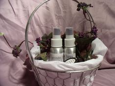 Love my Lavender Gift Basket, Aromatherapy and essential oil bath products,skin care NATURAL/ORGANIC, Mother's Day/birthday gift