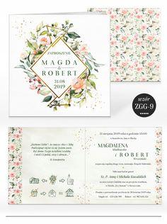 Zaproszenia ślubne RUSTYKALNE KWIATY + KOPERTA 7584587654 - Allegro.pl Art Projects, Bullet Journal, Invitations, Wedding, Art Designs, Mariage, Weddings, Marriage, Casamento