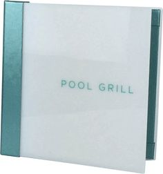 Pool Grill - 385919 - Pool Menus and Menu Covers are a great way to promote and increase sales out by the pool. Menu Designs has a number of different options.