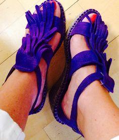 Sandalias, complementos, moda
