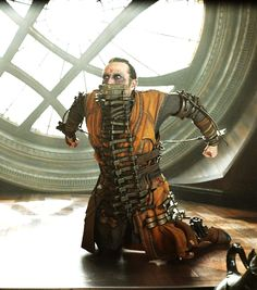 Mads Mikkelsen as Kaecilius in Doctor Strange (Awkward! Although the dialogue in this scene was some of my fave.)