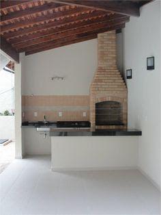 Resultado de imagem para ideias de churrasqueiras simples Patio Bar, My Dream Home, Exterior Design, Pergola, Home Furniture, Home Goods, House Plans, Interior Decorating, Sweet Home