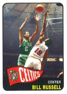 The Celtics Bill Russell Cards from Too Many Verlanders Bill Russell, Basketball Cards, Clean House, Celtic, Nba, Legends, Sports, Closet, Hs Sports