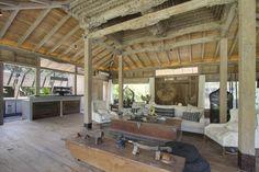 Villa Hansa - Joglo living space