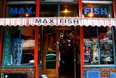 See the 20 Hottest Art World Hangouts of 2014 -  MAX FISH, NEW YORK