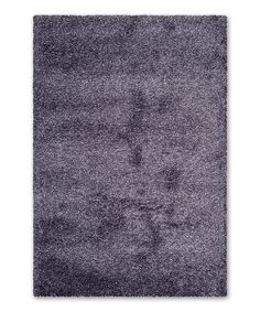 Purple Hallie Shag Rug by  #zulily #zulilyfinds
