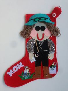 #Personalized Christmas #Stockings as unique as you are!  Start a new family tradition and memory this year with personalized Christmas character stockings.  Every stocking i... #trending #xmasgiftidea #xmasstocking #ohwhatfun #stockings #personalized