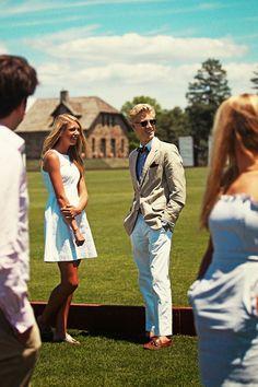 Classy Girls Wear Pearls: Greenwich Polo