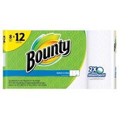 Bounty Paper Towels Giant Roll 8pk Only $6.49/Each At Target With Coupon Stack Starting 5/22!