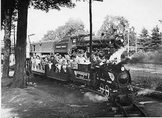 The Steam Train Ride at Britannia Park in the 50's and 60's? I loved going there when I was a kid.