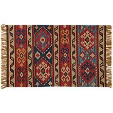 buy weaver green taurus horns kelim washable outdoor rug online at johnlewis com