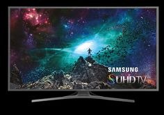 Redefine the TV Experience with the SUHD TV. Enjoy a home theater experience like never before with the Samsung SUHD TV. See expanded color range with Nano-crystal technology as well as dynamic. Smart Tv Samsung, Samsung Tvs, Life Pictures, Cool Pictures, 4k Ultra Hd Tvs, Audio, Bright Pictures, 4k Uhd