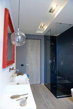 5 bagni di 5 piccoli appartamenti in centro