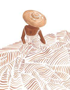 Malerei Sabina Fenn Sabina Fenn Illustration # Principles of Int Art And Illustration, Watercolor Illustration, Art Illustrations, Character Illustration, Creative Illustration, Pattern Illustration, Arte Inspo, Art Watercolor, Watercolor Fashion