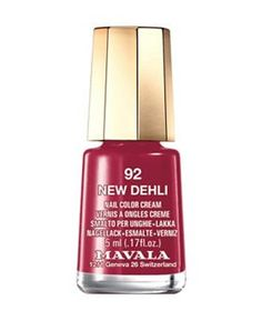 Malava nail polish. Love these dinky nail polishes.